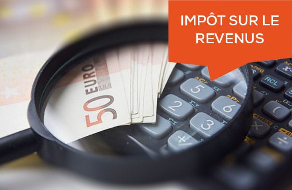 Impôts sur revenus 2021