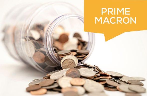 prime macron 2021