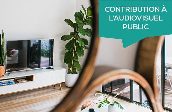 contribution audiovisuel public
